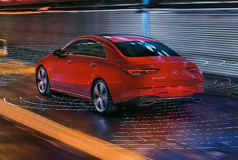 2021 Mercedes Benz CLA-coupe safety