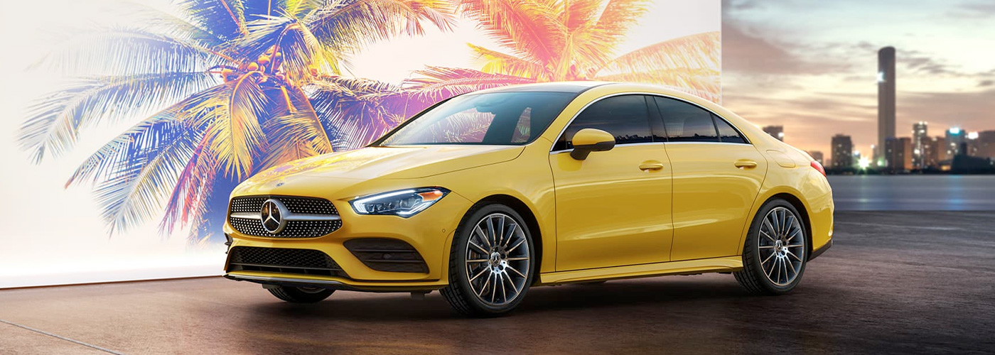 2021 Mercedes Benz CLA-coupe header