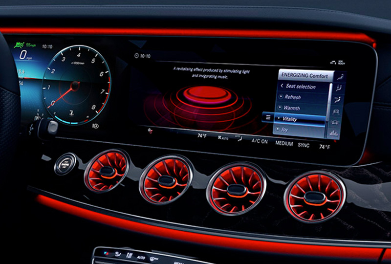 2021 Mercedes Benz CLS-coupe design