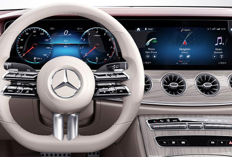 2021 Mercedes Benz E-Class-Coup design