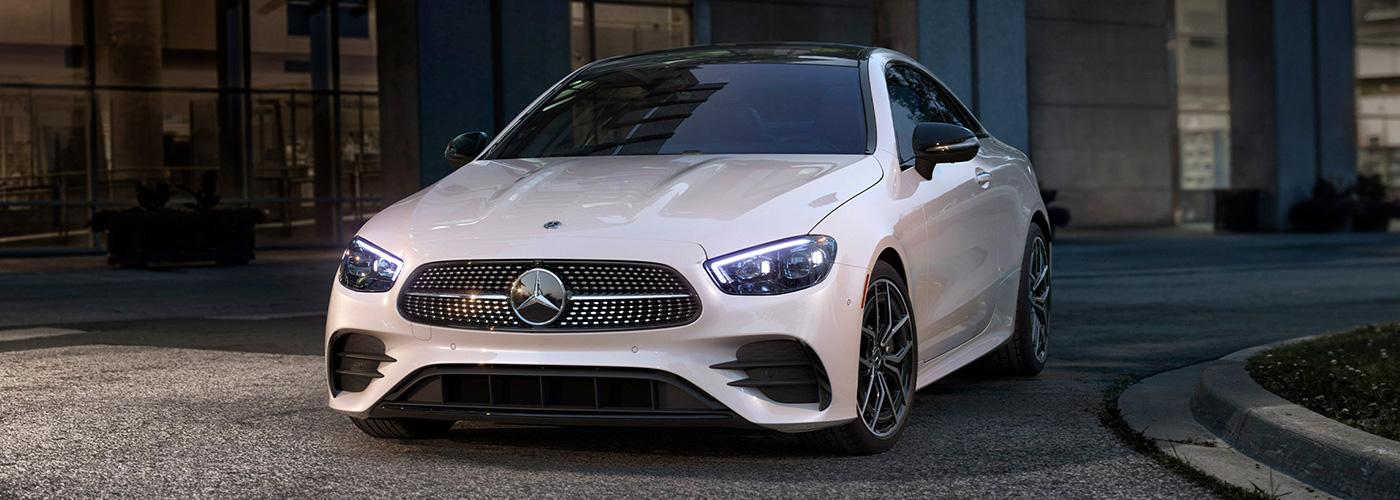 2021 Mercedes Benz E-Class-Coup header
