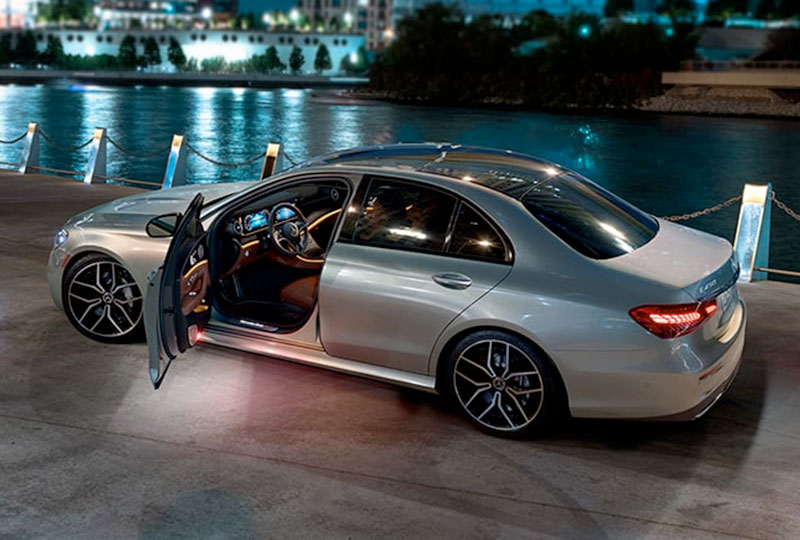 2021 Mercedes Benz E-Class design