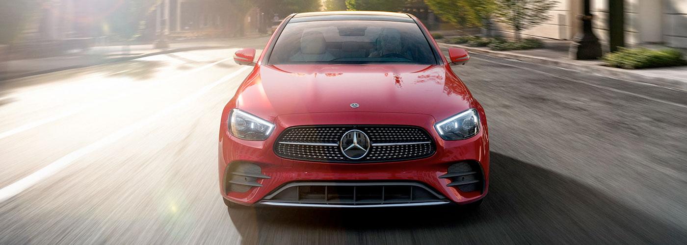 2021 Mercedes Benz E-Class header