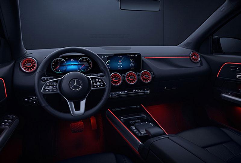 2021 Mercedes Benz GLA SUV design