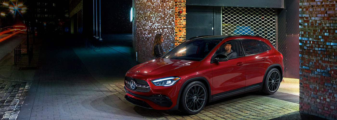 2021 Mercedes Benz GLA SUV header