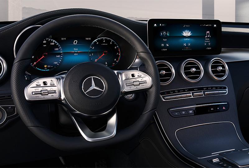 2021 Mercedes Benz GLC Coupe design