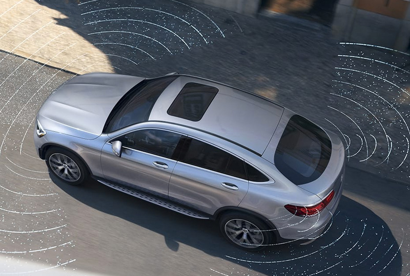 2021 Mercedes Benz GLC Coupe safety