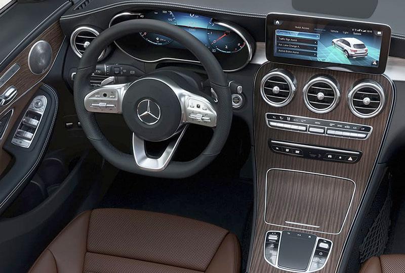 2021 Mercedes Benz GLC technology