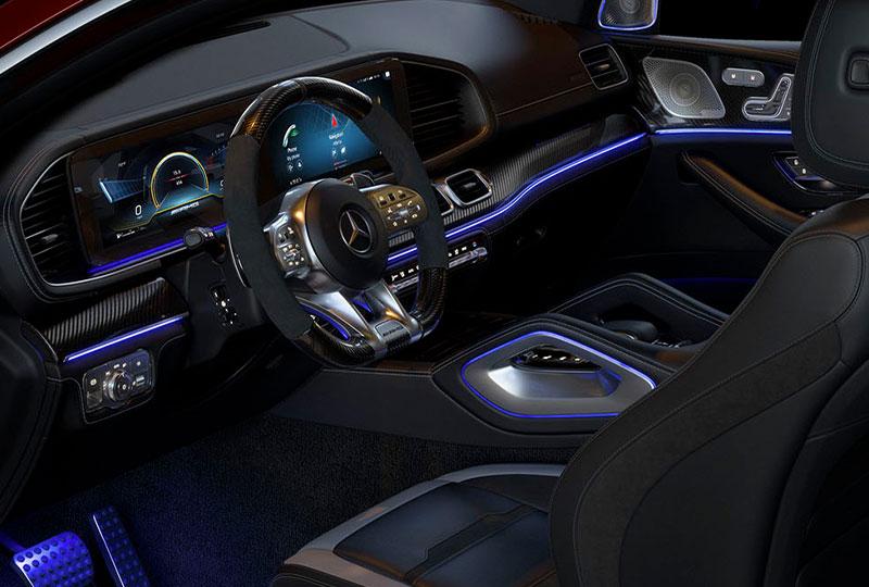 2021 Mercedes Benz GLE Coupe design