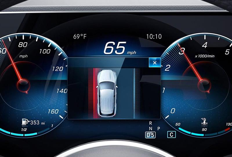 2021 Mercedes Benz GLE SUV safety