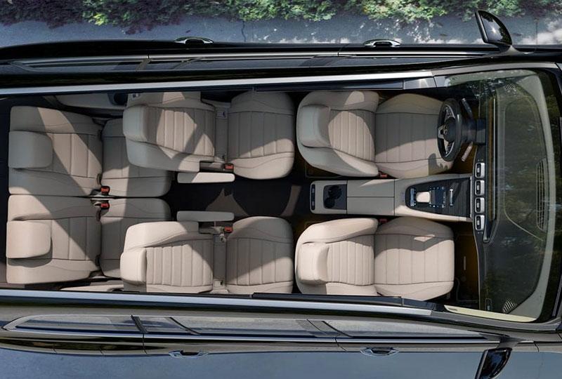 2021 Mercedes Benz GLS technology