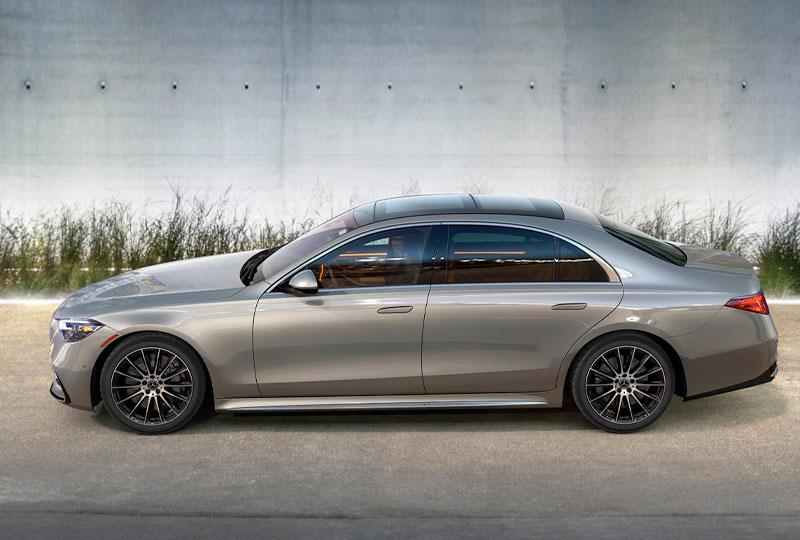 2021 Mercedes Benz S-Class-Sedan design