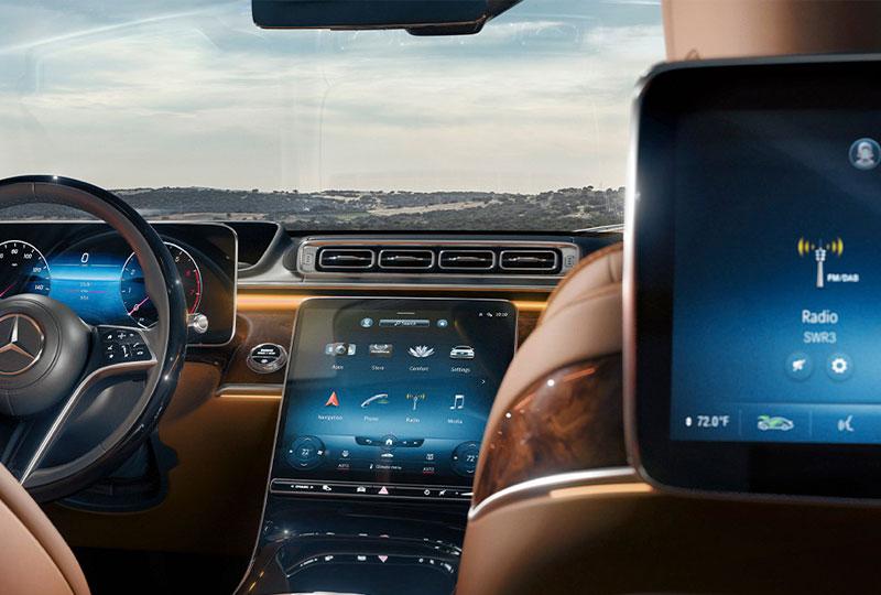 2021 Mercedes Benz S-Class-Sedan technology