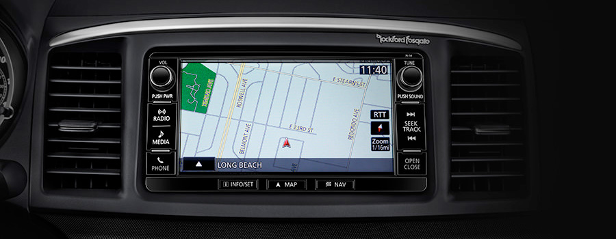 HIGH DEFINITION 7 TOUCHSCREEN NAVIGATION