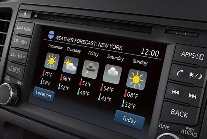 2021 Nissan NV Passenger Van   technology