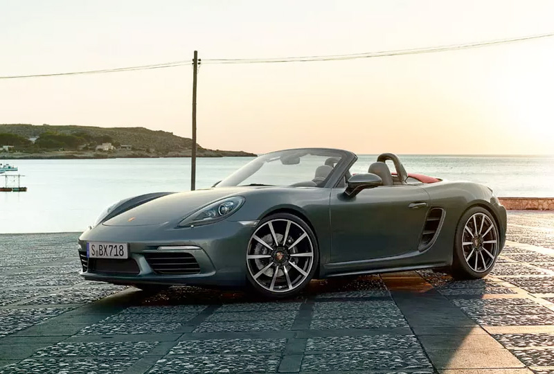 2019 Porsche 718-Boxster design