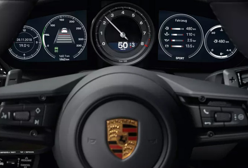 2019 Porsche 911 Carrera Safety