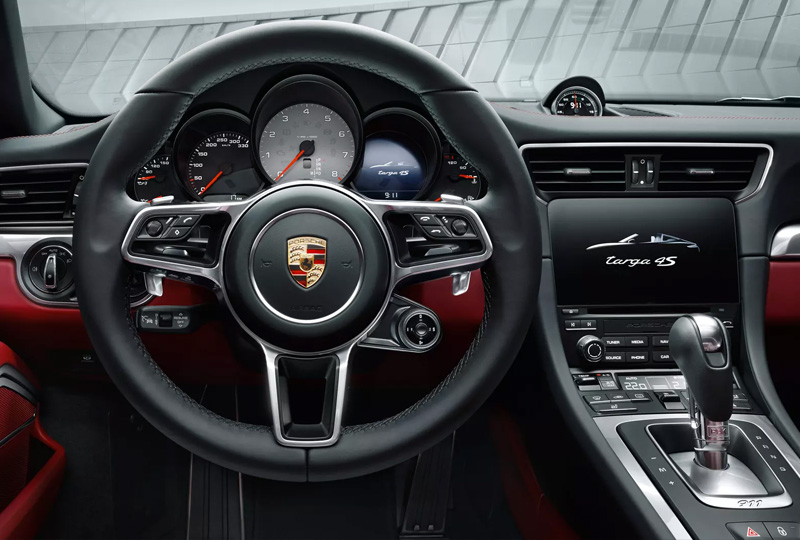 2019 Porsche 911 Targa 4 Models Safety