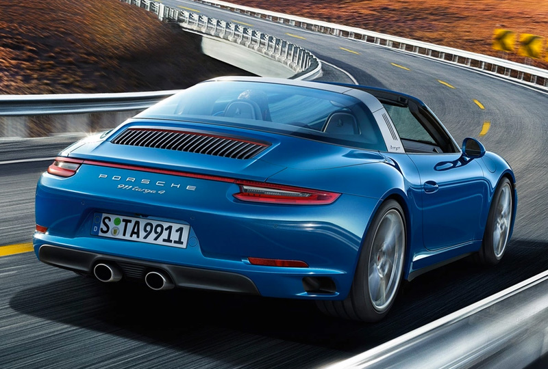 2019 Porsche 911 Targa 4 Models Technology