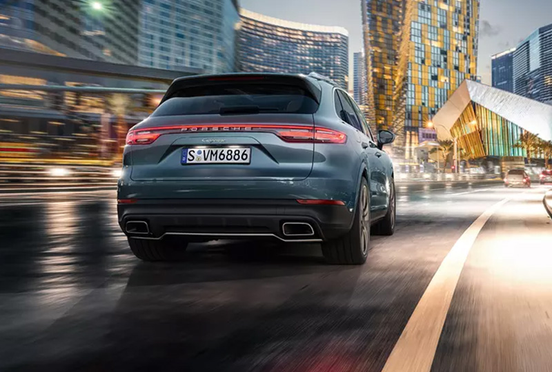 2019 Porsche Cayenne Safety