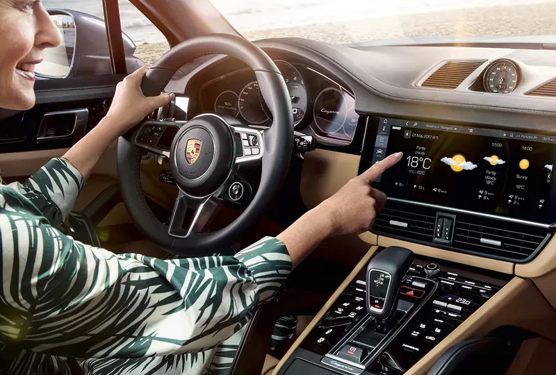 2019 Porsche Cayenne Technology