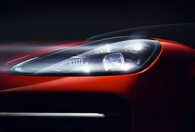 2019 Porsche Cayenne Coupe Safety