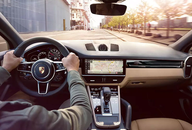 Porsche Connect navigation