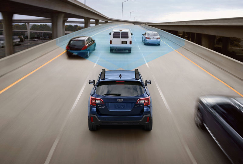 Blind-Spot Detection and Rear Cross-Traffic Alert