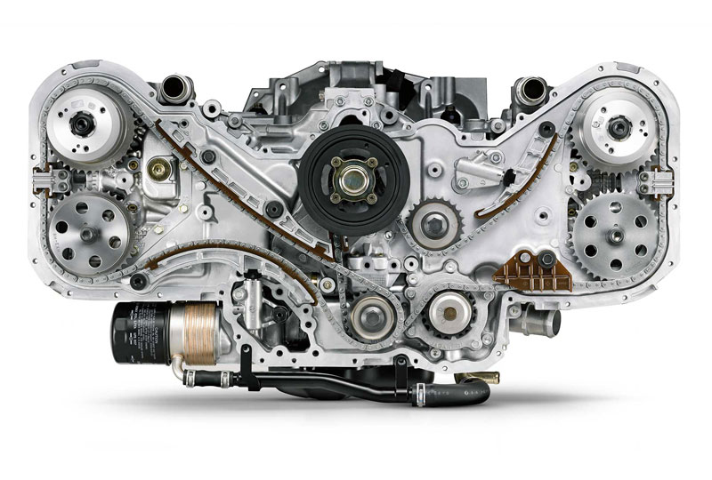 Direct-Injection Turbocharged SUBARU BOXER® Engine