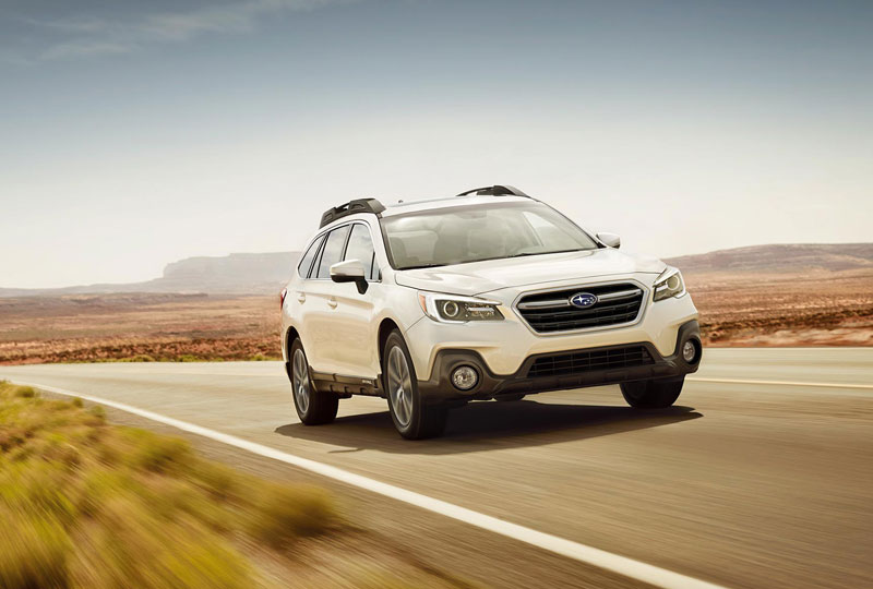 Subaru Symmetrical All-Wheel Drive