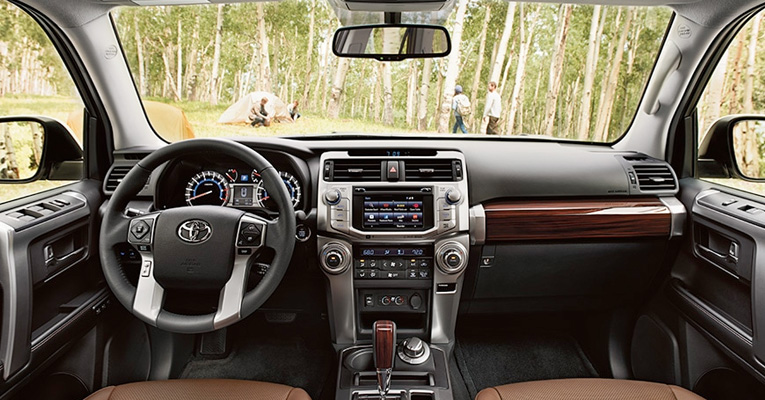 2017 Toyota 4Runner Surrounded by quality