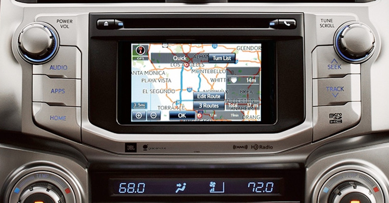 2017 Toyota 4Runner Integrated Navigation