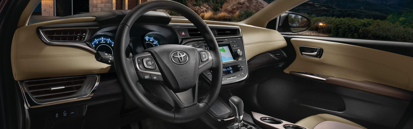 2017 Toyota Avalon Wrap yourself in luxury wherever you go