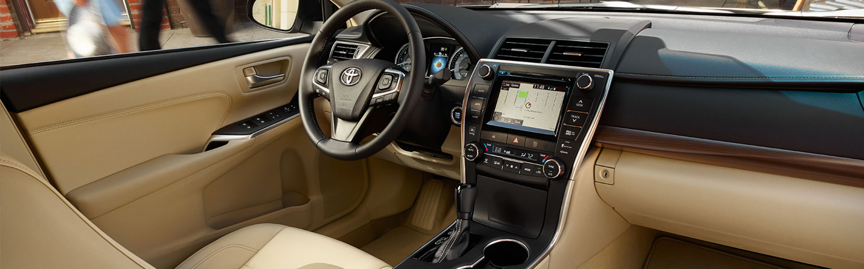 2017 Toyota camry Sporty Interior