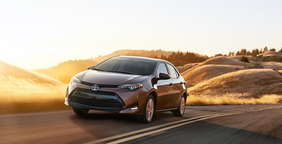 2017 Toyota Corolla Blind Spot Monitor