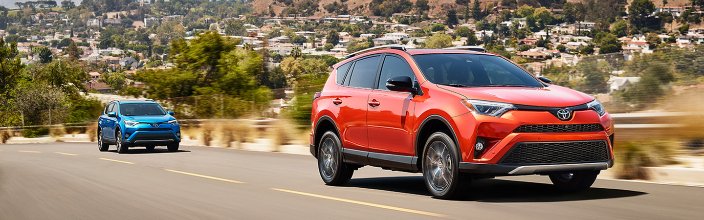 2017 Toyota RAV4 Hybrid Exciting hybrid power