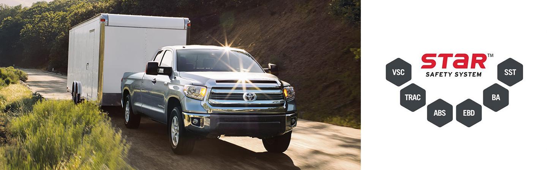 2017 Toyota Tundra Blind Spot Monitor