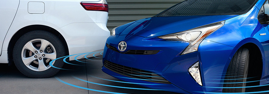 2017 toyota Prius Color Head-Up Display