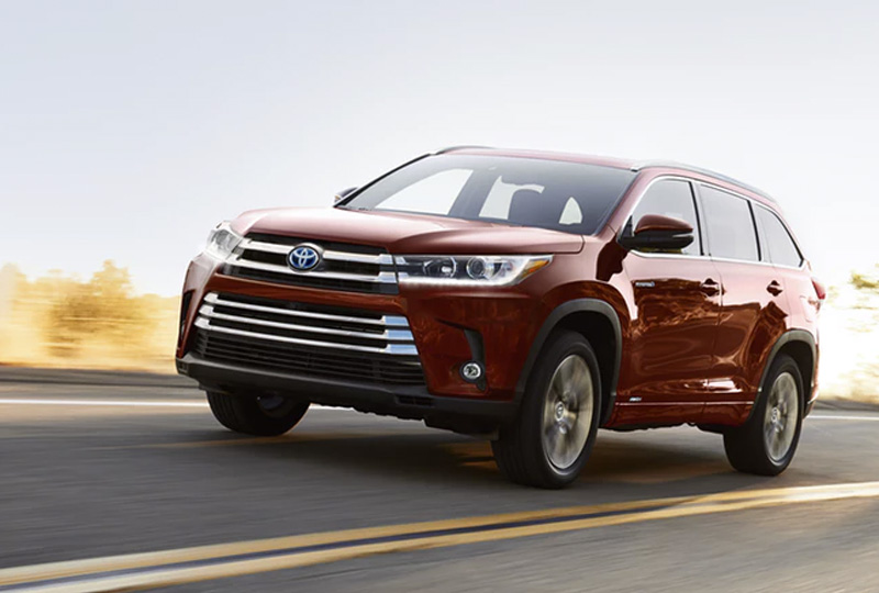 2019 Highlander Hybrid Design