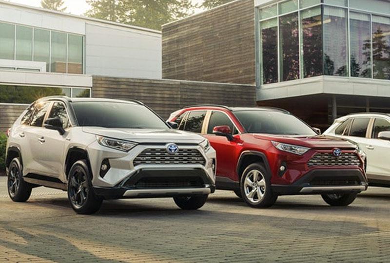 2019 Toyota RAV4 Hybrid Design