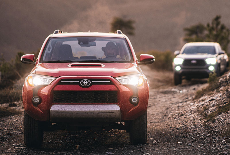 2021 Toyota 4Runner    Performance