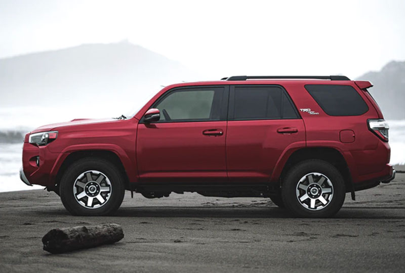 2021 Toyota 4Runner    safety