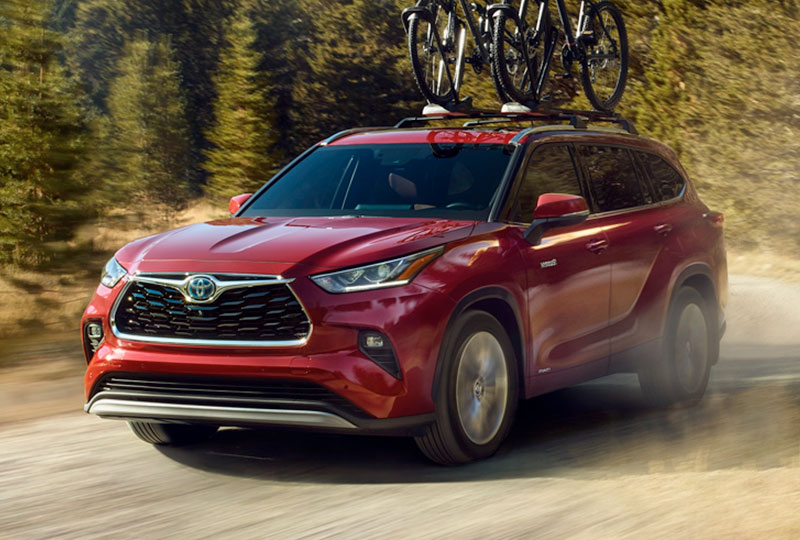 2021 Toyota Highlander  Hybrid  Performance