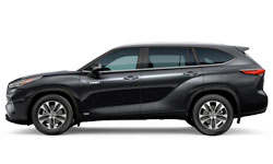 2021 Toyota Highlander  Hybrid    trims