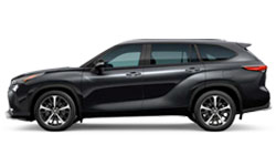 2021 Toyota Highlander trims