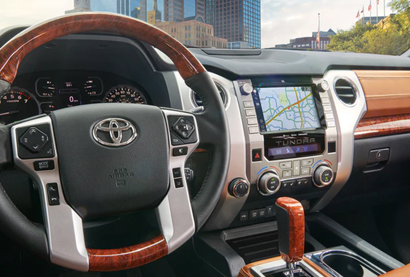 2021 Toyota Tundra technology