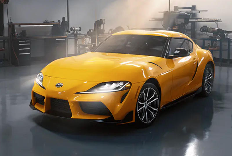 2021 Toyota GR-Supra Coming soon A PERFECT BALANCE