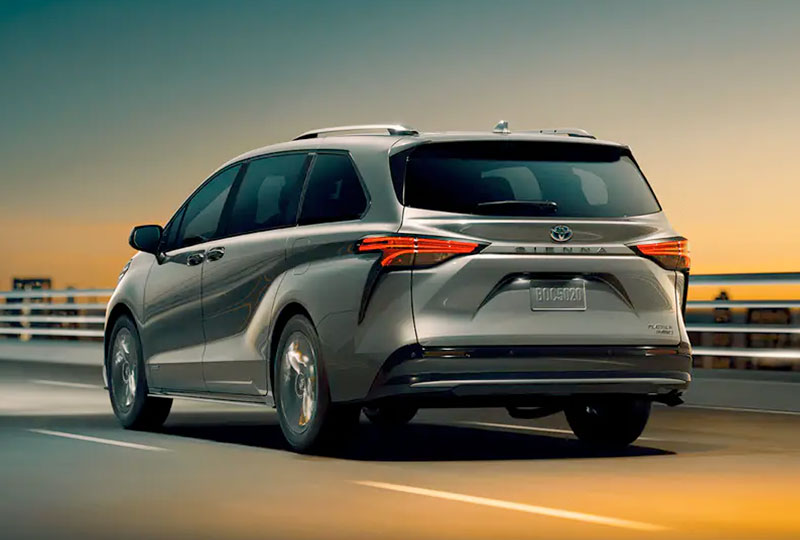 2021 Toyota Sienna Go the Distance