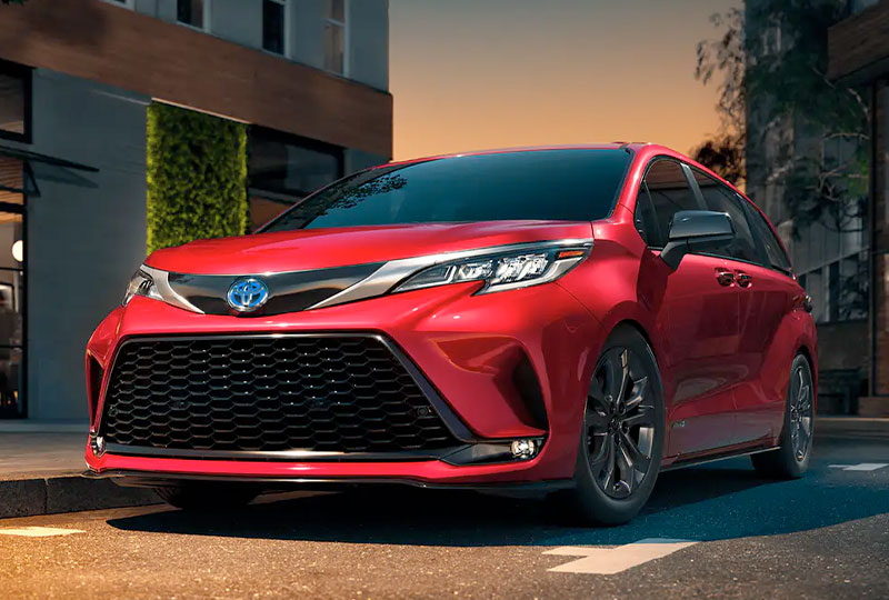 2021 Toyota Sienna Highlights