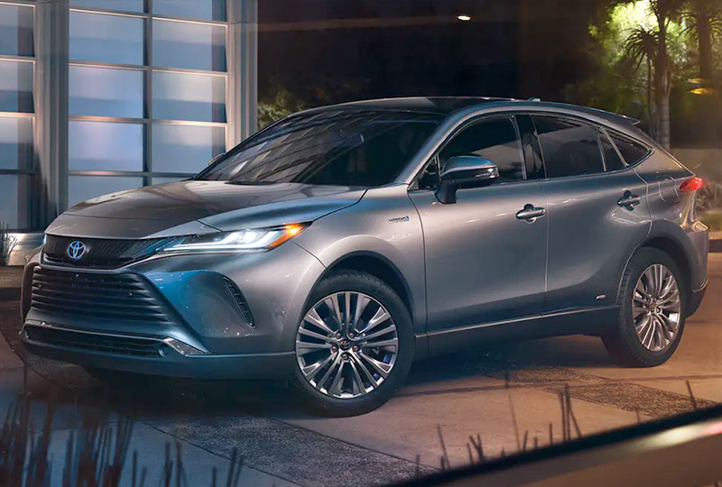 2021 Toyota Venza Stand-alone style.